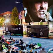 Outdoor Film Screenings Return to Proxy. With Beer.