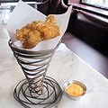 Pork Rinds, Maryland-Style, at Saint-Ex