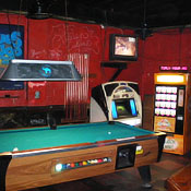 A Pool Table at Northside Tavern