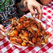 A 100-Gallon Louisiana Crayfish Boil in Fulton Market