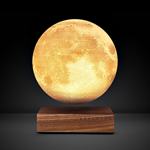 The World's First Levitating Moon Lamp