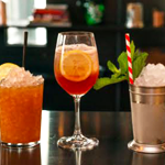 Cocktails and Crawfish at Porchlight