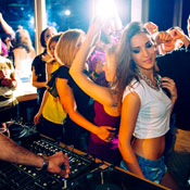 A Daytime Dance Party with Donuts and Champagne. Intrigued?