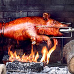 Oh, and the Venice Whaler Pig Roast