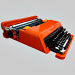 An Inspiring Vintage Italian Typewriter