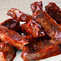 Thai-Spiced Chocolate Baby Back Ribs