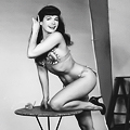 Like Bettie Page on a Roof (Sort Of)