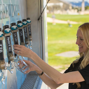 Just an Entire Beer Trailer for Your Next Party