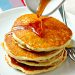 A-Frame's Endless Pancakes