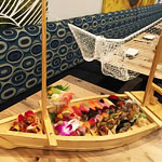 A Literal Boatload of Sushi