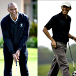 Obama and Jeter's Vegas Vacation