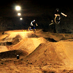 A New Bike Park 100 Feet Below Ground