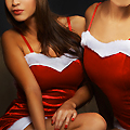 Santa Girls and Naughty Photo Booths