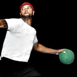 Dodgeball. With Deron Williams. Really.