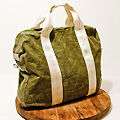 Bags Made from Military Pup Tents