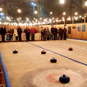 Sausage, Beer and Ice Curling: A Love Story
