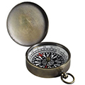 A Vintage-y Compass for Your Journey