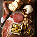 Old Hollywood and Cured Meats