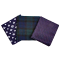 Three Pocket Squares. Match Away.