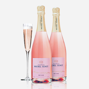 Twice the Sparkling Rosé for Mom This Year