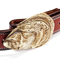 This Oyster Shell Belt Buckle from Sid