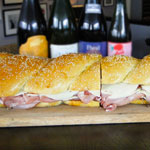 Two Feet of Muffuletta at the Hawthorne