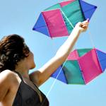 Flying Kites at the Hub