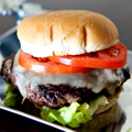 Burgers from Food Network's Meat Guy