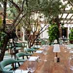 A Saturday Brunch in Cecconi's Garden