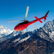 Hurtling Through the Himalayas via Helicopter