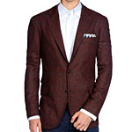 A Reasonably Red Wool Blazer