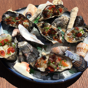 A Former Atelier Crenn Chef Is Serving You Oysters in Monterey