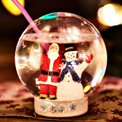 This Snow Globe Is Particularly Merry. It's Filled with Gin.