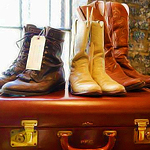 Last Call for Vintage Boots and Jackets