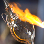An Evening of Dinner and Glassblowing