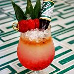 Tiki Drinks and Haitian Food