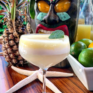 To Parigo, for the Pop-Up Patio Tiki Bar