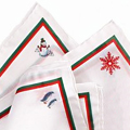 Holiday Spirit Pocket Squares