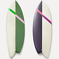 Surfboards with a Little Off the Side