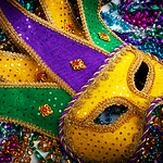 Town Hall Goes Full Mardi Gras