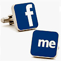 Facebook Cuff Links