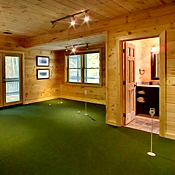 Indoor-Golfing-Because Cabin