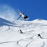 Skiing the Backcountry via Helicopter
