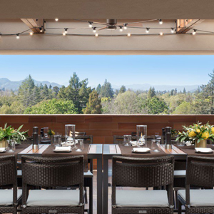 Napa's Only Rooftop Bar Beckons Wildly