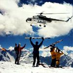 Glacier Heli-Skiing