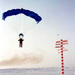 Skydiving at the North Pole