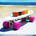 Beer Skateboards in Ocean City