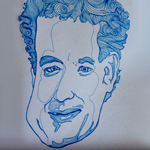 This Guy Draws Tom Hanks. For $9,000.