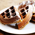 Bacon and Cheddar Waffles