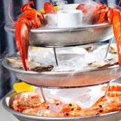 Smoking Seafood Towers and Half-Off Wine